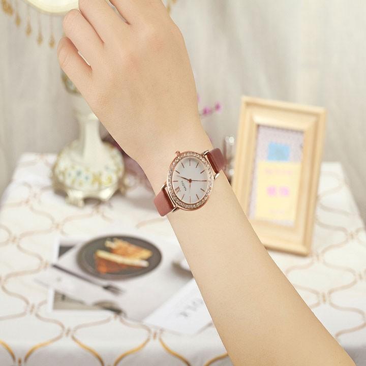 Đồng hồ nữ thời trang phong cách hàn quốc 4