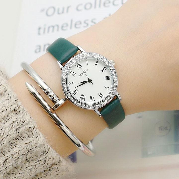 Đồng hồ nữ thời trang phong cách hàn quốc 3