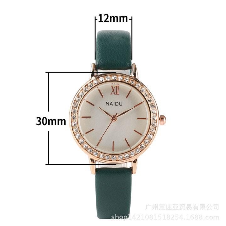 Đồng hồ nữ thời trang phong cách hàn quốc 2