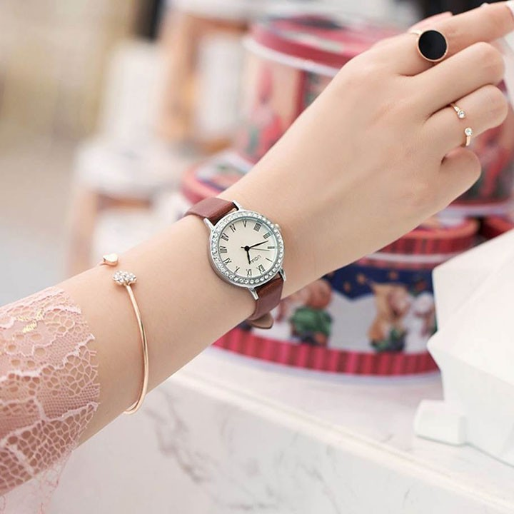 Đồng hồ nữ thời trang phong cách hàn quốc 5
