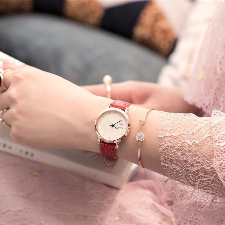 Đồng hồ thời trang nữ phong cách cao cấp 1