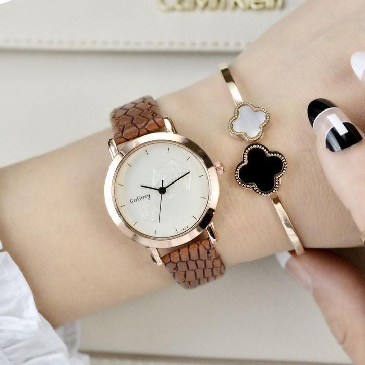 Đồng hồ thời trang nữ phong cách cao cấp 5