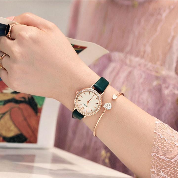 Đồng hồ thời trang nữ phong cách cao cấp 4