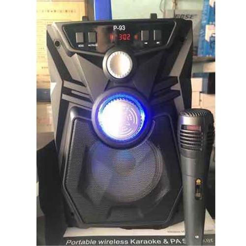 Loa Bluetooth Karaoke P91 - P93 tặng mic