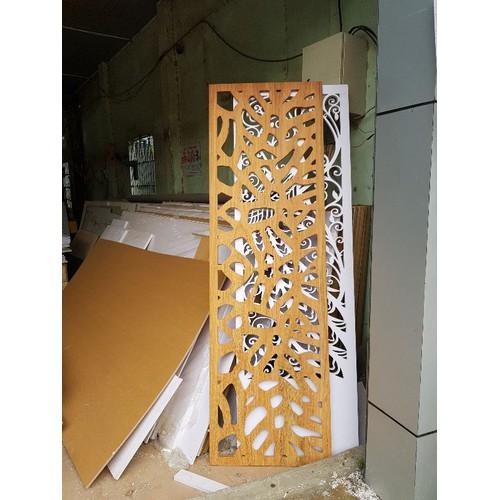 Vách ngăn cnc kết hợp tủ vn77