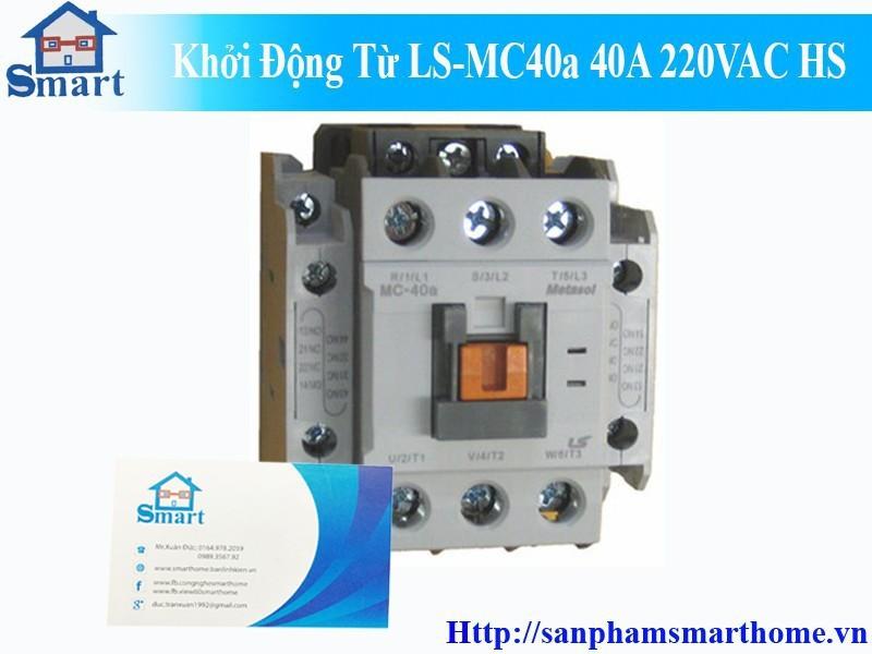 Khởi Động Từ LS-MC40b 40A 220VAC 6