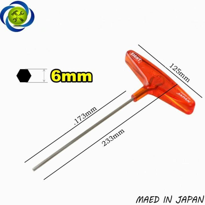Lục giác chữ T EIGHT 018-6 6mm 1