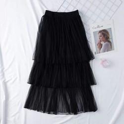 Chân váy xếp tầng nữ đẹp