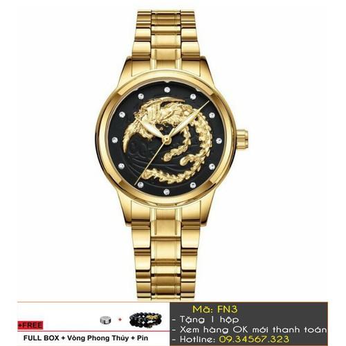 [Tặng Vòng Tặng Pin] Đồng hồ nữ phụng thương hiệu FNGEEN