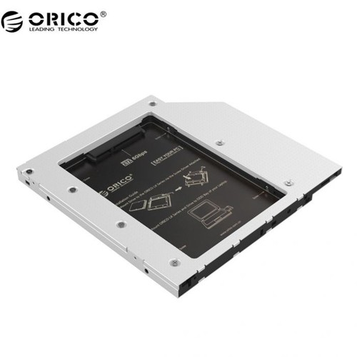 Khay Ổ Cứng Laptop Orico L95ss - Caddy bay Mỏng Gắn Thêm Ổ Cứng Cho Laptop - Hàng Chính Hãng Viscom