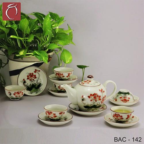 Bộ ấm chén men kem hoa sen đỏ cao cấp gốm sứ Bảo Khánh Bát Tràng - bộ bình uống trà cao cấp - 6910737 , 16888332 , 15_16888332 , 580000 , Bo-am-chen-men-kem-hoa-sen-do-cao-cap-gom-su-Bao-Khanh-Bat-Trang-bo-binh-uong-tra-cao-cap-15_16888332 , sendo.vn , Bộ ấm chén men kem hoa sen đỏ cao cấp gốm sứ Bảo Khánh Bát Tràng - bộ bình uống trà cao cấp
