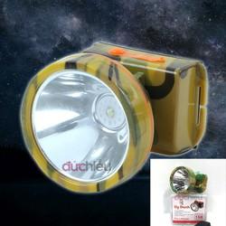 [Loại to] Đèn pin đội đầu siêu sáng có ánh sáng vàng A3, đèn pin, đèn đội đầu, đèn đeo trán