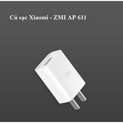 Củ Sạc nhanh Xi aomi ZMi 5V 2A chuẩn 3C - AP611 Trắng