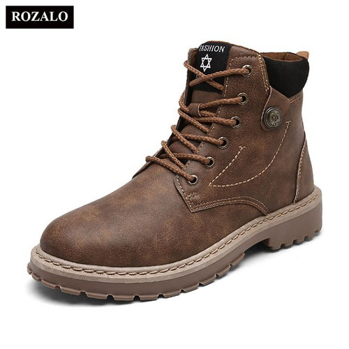 Giày boot nam cao cấp chống thấm chống trơn trượt Rozalo RM6823 - 6948509 , 16915912 , 15_16915912 , 427000 , Giay-boot-nam-cao-cap-chong-tham-chong-tron-truot-Rozalo-RM6823-15_16915912 , sendo.vn , Giày boot nam cao cấp chống thấm chống trơn trượt Rozalo RM6823