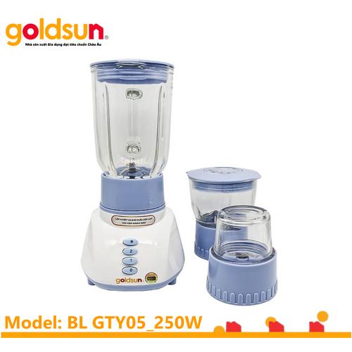 Máy xay sinh tố 3 cối thủy tinh Goldsun GTY05