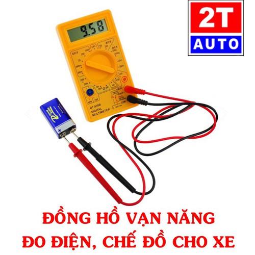 Đồng hồ vạn năng loại số ĐIỆN TỬ để đo điện, kiểm tra và chế các thiết bị điện cho ô tô xe máy, điện gia dụng - 6965884 , 16927826 , 15_16927826 , 155000 , Dong-ho-van-nang-loai-so-DIEN-TU-de-do-dien-kiem-tra-va-che-cac-thiet-bi-dien-cho-o-to-xe-may-dien-gia-dung-15_16927826 , sendo.vn , Đồng hồ vạn năng loại số ĐIỆN TỬ để đo điện, kiểm tra và chế các thiết bị
