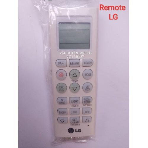 Điều khiển điều hoà LG có nút dạ quang  REMOTE máy lạnh