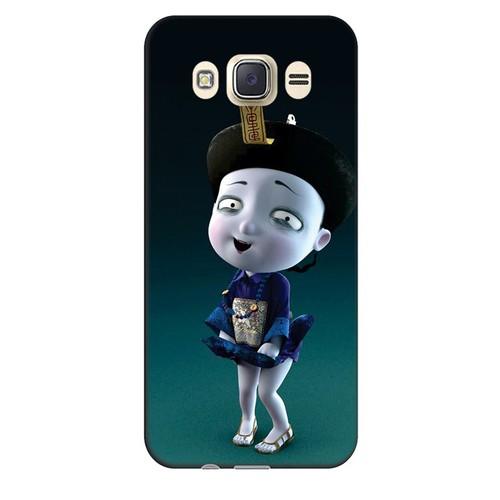 Ốp lưng nhựa dẻo dành cho Samsung Galaxy J7 2016 in hình Tiểu Cương Thi Nữ