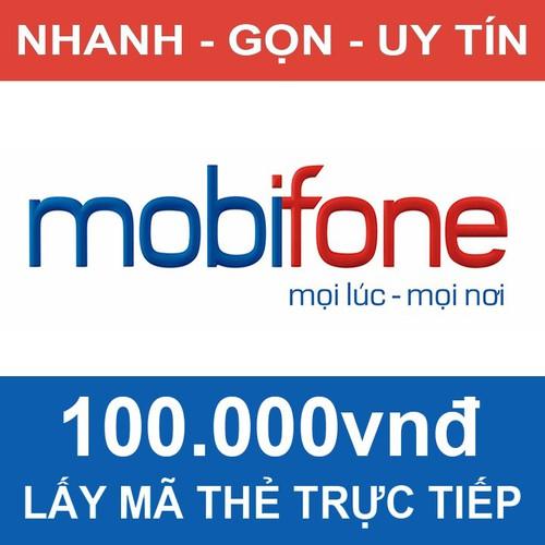 Thẻ điện thoại Mobifone 100.000đ - 6950134 , 16917012 , 15_16917012 , 100000 , The-dien-thoai-Mobifone-100.000d-15_16917012 , sendo.vn , Thẻ điện thoại Mobifone 100.000đ