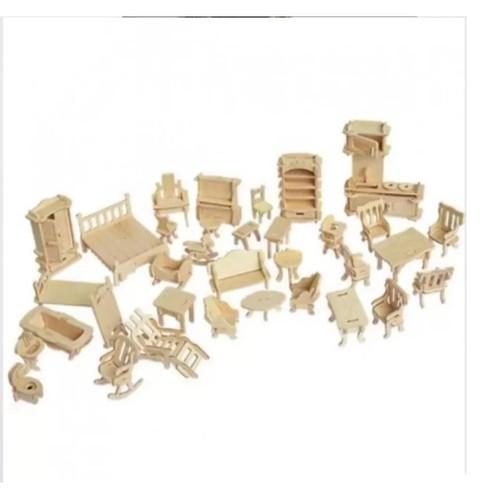 Bộ lắp ghép 3D bằng gỗ cho bé - 6946987 , 16914566 , 15_16914566 , 77000 , Bo-lap-ghep-3D-bang-go-cho-be-15_16914566 , sendo.vn , Bộ lắp ghép 3D bằng gỗ cho bé