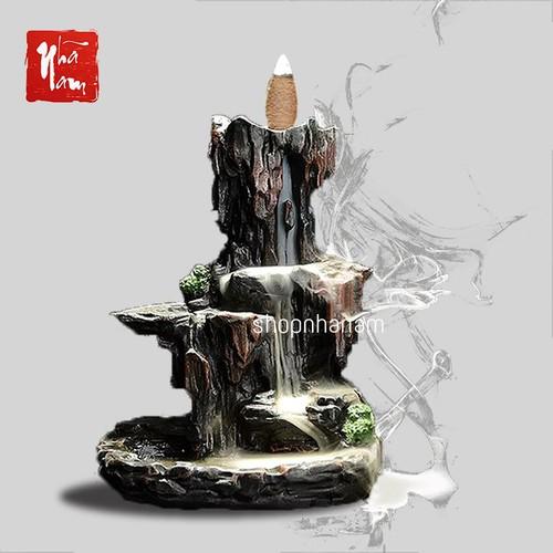 thác khói trầm hương tặng 3 nụ