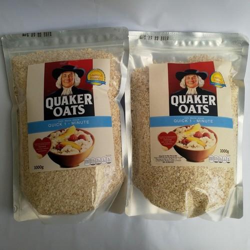 Combo 2 Yến mạch Quaker Oats Túi 1kg - 6940034 , 16910000 , 15_16910000 , 160000 , Combo-2-Yen-mach-Quaker-Oats-Tui-1kg-15_16910000 , sendo.vn , Combo 2 Yến mạch Quaker Oats Túi 1kg