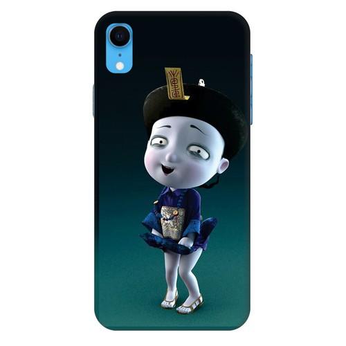 Ốp lưng nhựa dẻo dành cho iPhone XR in hình Tiểu Cương Thi Nữ