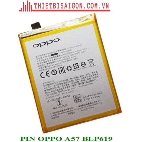 PIN OPPO A57 BLP619 - 6958161 , 16922864 , 15_16922864 , 127000 , PIN-OPPO-A57-BLP619-15_16922864 , sendo.vn , PIN OPPO A57 BLP619