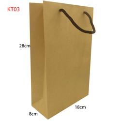 10 Túi giấy trơn KT03