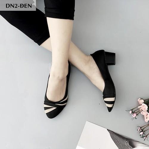 Giày búp bê cao gót 3 phân DN2 - 6945203 , 16913538 , 15_16913538 , 139000 , Giay-bup-be-cao-got-3-phan-DN2-15_16913538 , sendo.vn , Giày búp bê cao gót 3 phân DN2