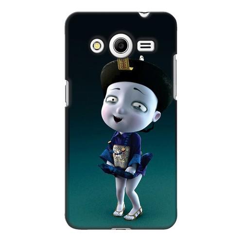 Ốp lưng nhựa dẻo dành cho Samsung Galaxy Core 2 in hình Tiểu Cương Thi Nữ