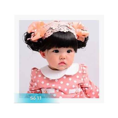 Băng đô tóc giả cho bé gái 0-3 tuổi - 6940774 , 16910265 , 15_16910265 , 85000 , Bang-do-toc-gia-cho-be-gai-0-3-tuoi-15_16910265 , sendo.vn , Băng đô tóc giả cho bé gái 0-3 tuổi