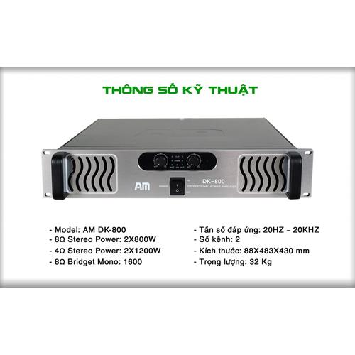 CỤC ĐẨY CÔNG SUẤT AM DK-800