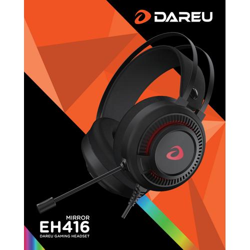 Tai nghe gaming DareU EH416 Hiệu Ứng Giả Lập 7.1- Hàng Chính Hãng _Kèm bàn di chuột khổ 70x30