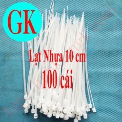 [100 cái] Lạt nhựa 10 cm - lạt nhựa 10cm - dây buộc