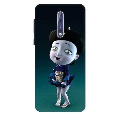 Ốp lưng nhựa dẻo dành cho Nokia 8 in hình Tiểu Cương Thi Nữ