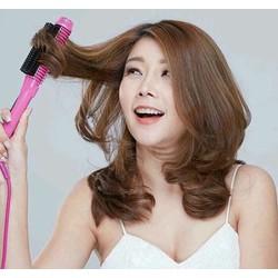 Lược uốn tóc tiện dụng tại nhà