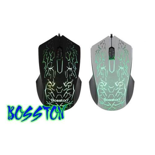 Chuột Bosston với thiết kế LED sang trọng, LED 7 màu tự chuyển cho bạn cảm giác kích thích khi chơi