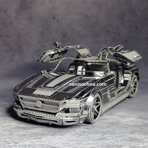 Mô hình lắp ráp kim loại 3D_ Siêu xe Mui trần