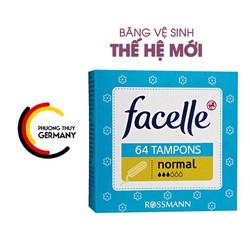 Băng vệ sinh Tampon facelle 64 viên hàng xách tay Đức