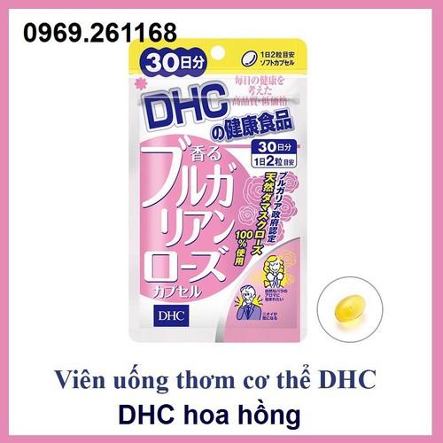 Viên uống thơm cơ thể DHC