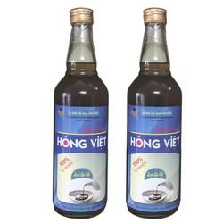 Nước mắm cáy đặc sản Thái Bình, sạch an toàn, combo 2 chai loại đặc biệt chai 500ml