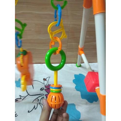 Bộ đồ chơi giá đỡ treo cho em bé tập nhận biết màu sắc chơi đùa nâng cao trí thông minh - 6961226 , 16925035 , 15_16925035 , 217000 , Bo-do-choi-gia-do-treo-cho-em-be-tap-nhan-biet-mau-sac-choi-dua-nang-cao-tri-thong-minh-15_16925035 , sendo.vn , Bộ đồ chơi giá đỡ treo cho em bé tập nhận biết màu sắc chơi đùa nâng cao trí thông minh