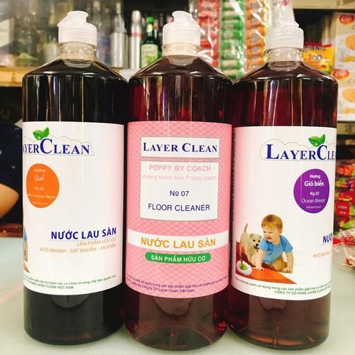 Nước Lau Sàn HC Layer Clean Hương Quế 1
