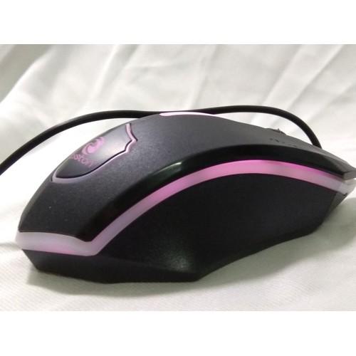 Chuột chính hãng Boss Led Đổi Màu cực Chất Gaming Net + Lót chuột đa năng loại xịn