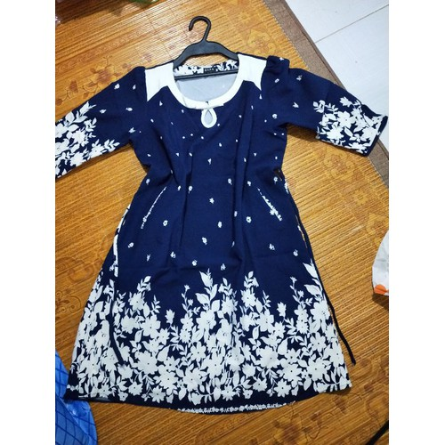 Đầm bầu tay lở shop