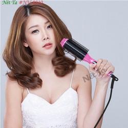 Lược điện NOVA 8810 uốn cúp chải thắng tóc đa năng