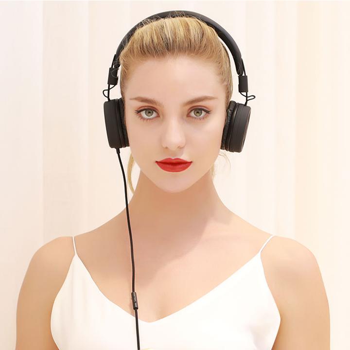 Tai nghe Remax RM-805 | RM 805 chụp tai có dây 1 jack 3.5mm 2