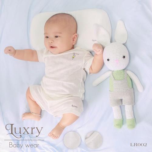 Quần áo trẻ em sợi tre Luxry - cộc cài vai