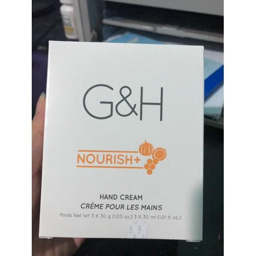 [GIÁ SẬP SÀN] Kem Dưỡng Ẩm Da Tay G&H Nourish+ 3x30 g